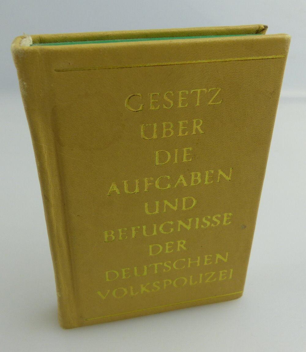 Minibuch:Gesetz über die Aufgaben und Befugnisse der Deutschen Volkspolizei e071