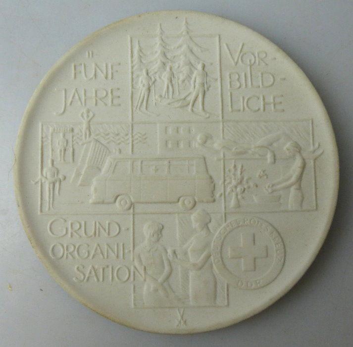 Meissen Medaille: 5 Jahre vorbildliche Grundorganisation DRK, Orden1432 0