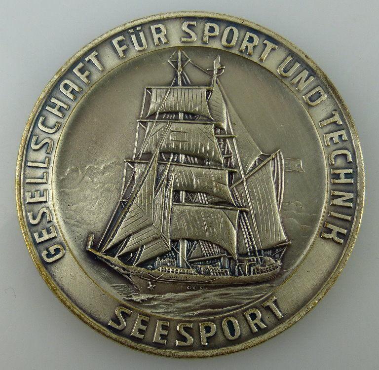 GST Medaille SSV Ehrengabe Seesport, silberfarben, GST727-2