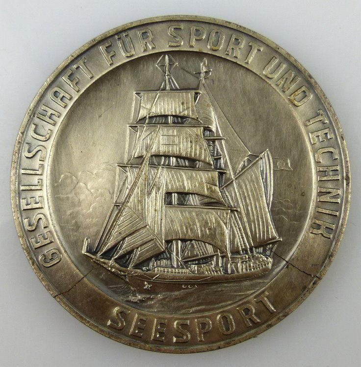 GST Medaille SSV Ehrengabe Seesport, silberfarben, GST727