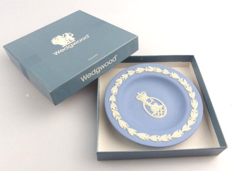 #e2990 Nachlass: Schöne alte Wedgwood Keramik Schale British Olympia