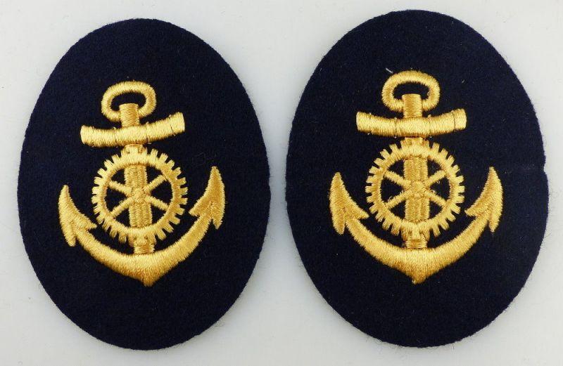 2 Aufnäher: Seestreitkräfte Volksmarine Maat / Technische Laufbahn, Orden2884