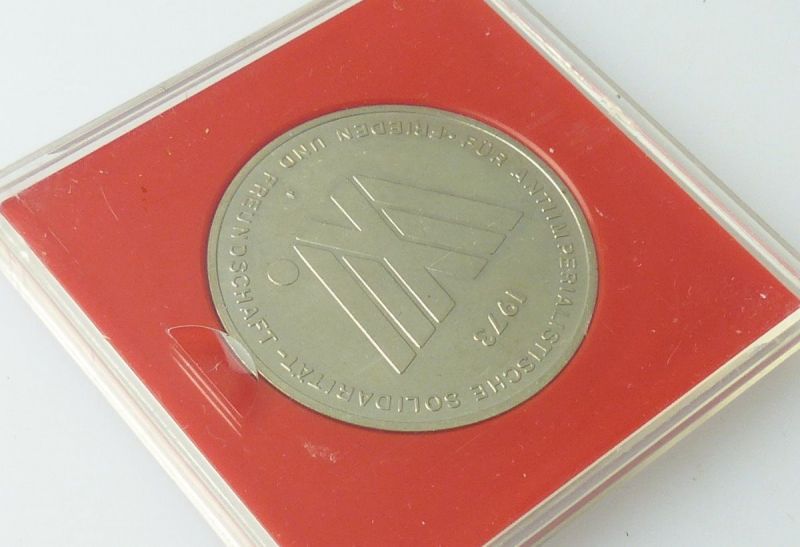 Medaille :Weltfestspiele der Jugend und Studenten Berlin Hauptstadt der DDR/r567