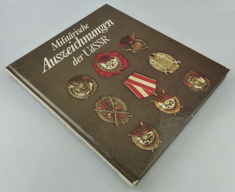 Buch Militärische Auszeichnungen der UdSSR, D. Herfurth 1987 Militärv, Buch2548
