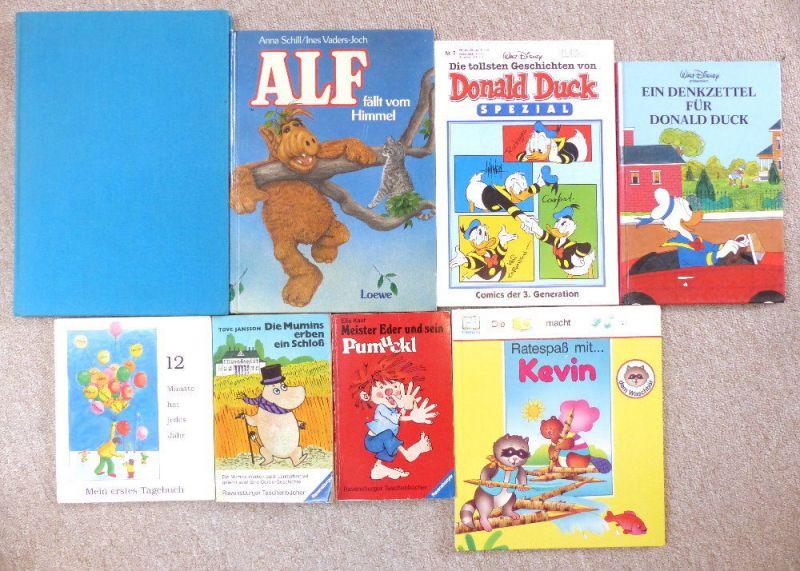 8 alte Kinderbücher: z.B. Meister Eden und sein Pumuckl e1081