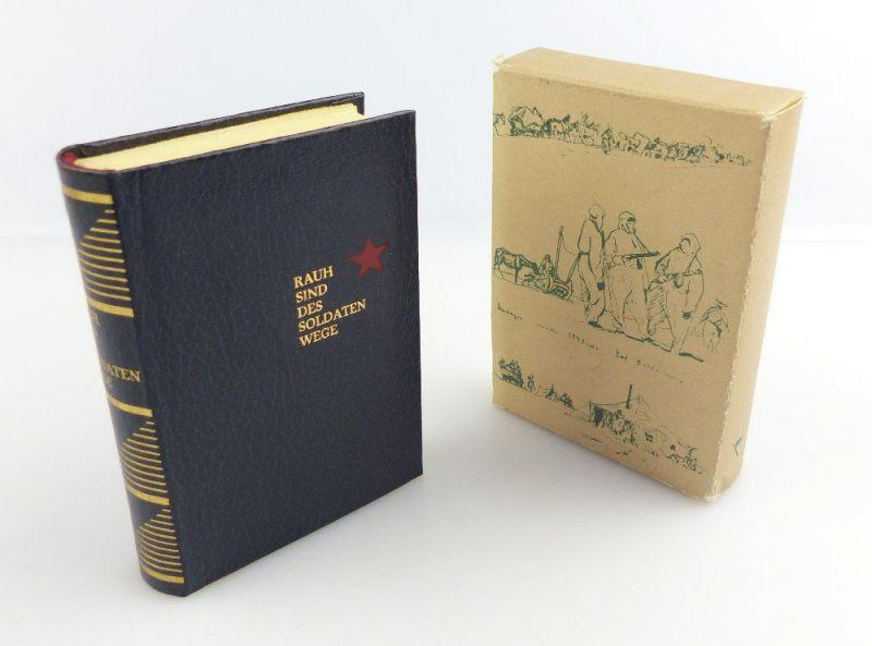 #e2941 Minibuch: Rauh sind des Soldaten Wege - Militärverlag der DDR