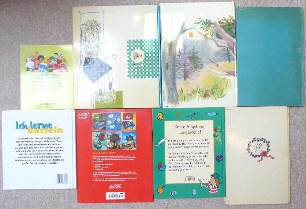 8 Kinderbücher: z.B. Basteln fürs Kinderzimmer etc. e1071 Nr ...