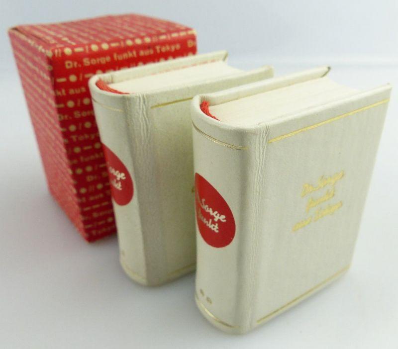 2 Minibücher: Dr. Sorge funkt aus Tokyo Dr. Richard Sorge e044