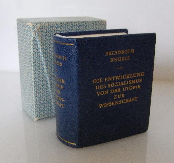 Minibuch: Die Entwicklung des Sozialismus von der Utpoie zur Wissenschaft bu0053