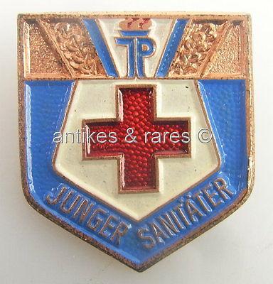 DDR Abzeichen Junge Pioniere Junger Sanitäter in Bronze Orden287