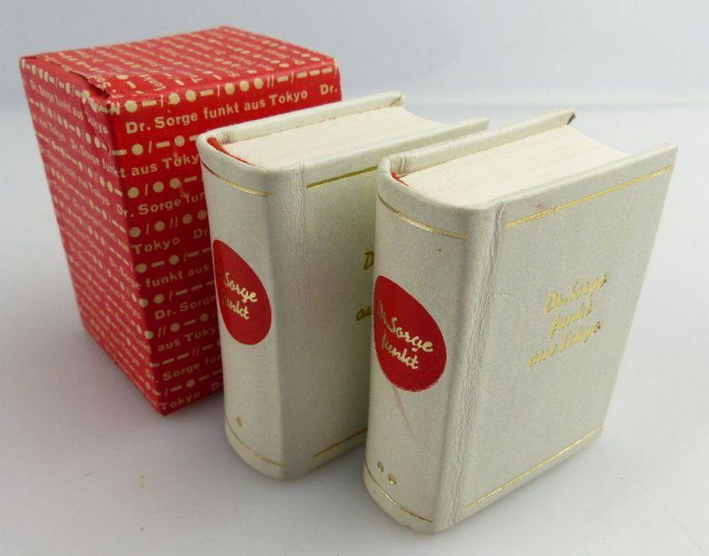2 Minibücher: Dr. Sorge funkt aus Tokyo Dr. Richard Sorge e043