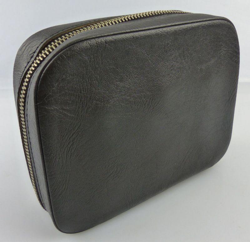 Schwarze Fernglastasche für z.B. Carl Zeiss Jena Ferngläser 6x30, 8x30, fern702