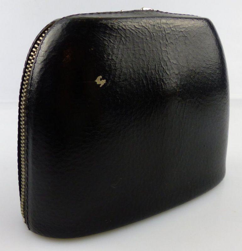 Schwarze Fernglastasche für z.B. Carl Zeiss Jena Ferngläser 6x30, 8x30, fern701