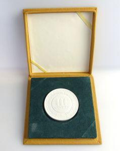 #e3683 DDR Meissen Medaille NDPD National Demokratische Partei Deutschlands