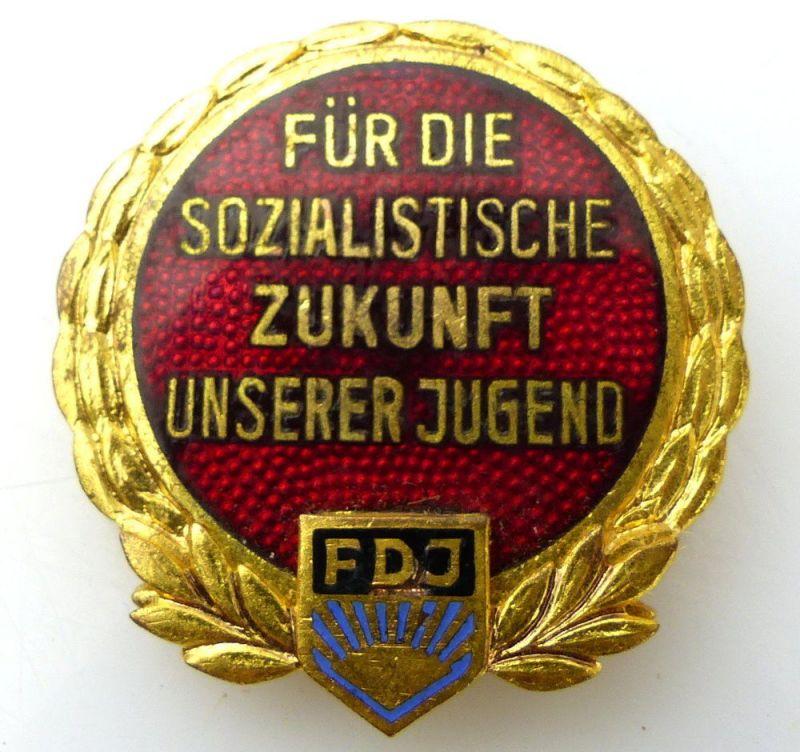 DDR Abzeichen: Für die sozialistische Zukunft unserer Jugend FDJ V Nr.1240 e1055