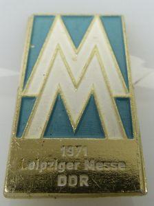 Abzeichen: Leipziger Messe 1971 DDR MM PGH Bijou Gotha DDR bu0831