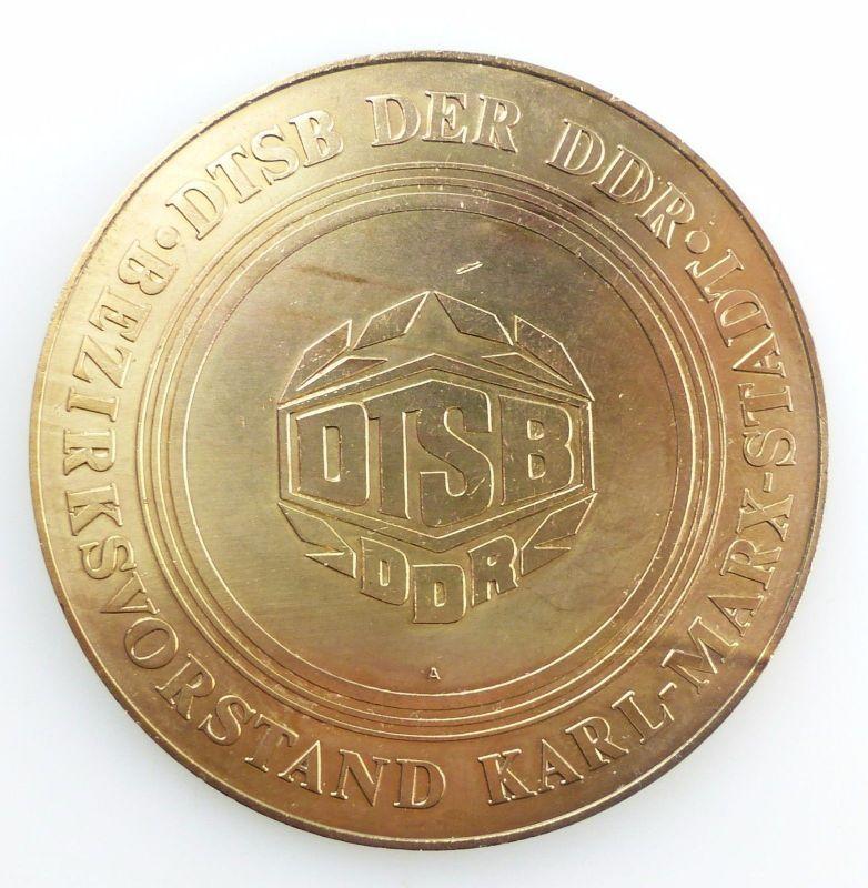 #e5935 DDR Medaille Ehrengabe des DTSB Bezirksvorstandes Karl-Marx-Stadt