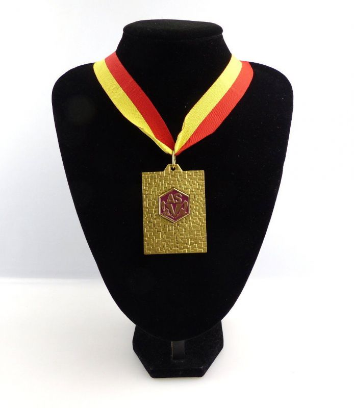 #e4153 DDR Medaille ASV Armeesportvereinigung Vorwärts DTSB CKAA