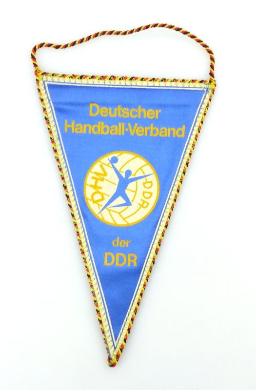 #e2912 DDR Wimpel: Deutscher Handball - Verband der DDR