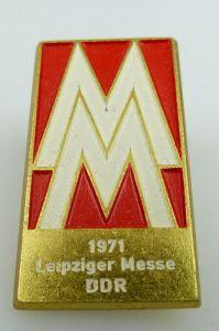 Abzeichen: MM 1971 Leipziger Messe DDR PGH Bijou Gotha DDR bu0809
