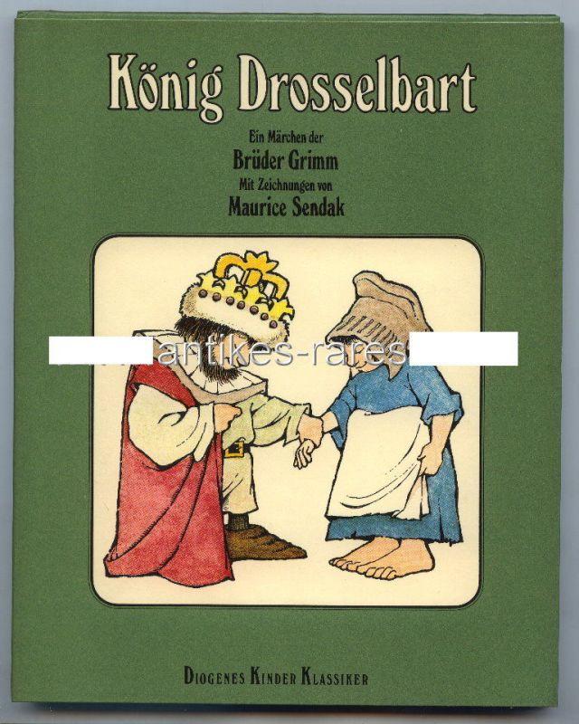 König Drosselbart Märchen der Gebrüder Grimm von Maurice Sendak 1974