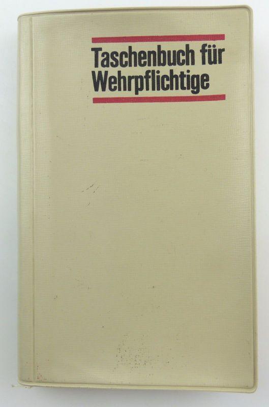 #e5927 Taschenbuch für Wehrpflichtige 1965 Deutscher Militärverlag Berlin