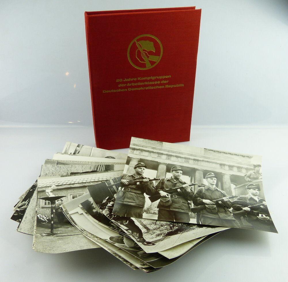 Fotomappe 35 Fotos : 20 Jahre Kampfgruppen der Arbeiterklasse der DDR, so306