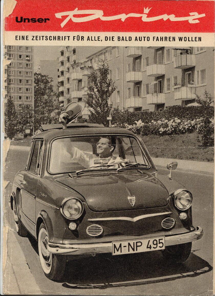 Zeitschrift: Unser Prinz, Für alle die bald Auto fahren
