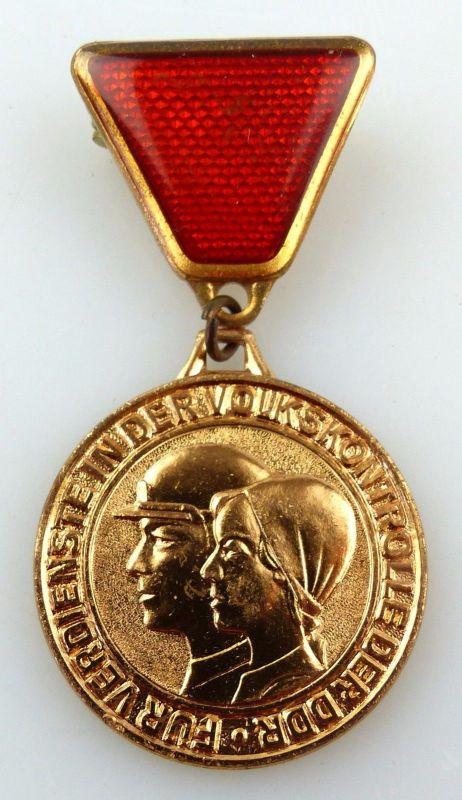 Medaille für Verdienste in der Volkskontrolle der DDR Band I Nr 249 a, Orden3308