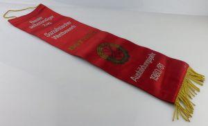 Fahnenschleife: GST Soz. Wettbewerb Ausbildungsjahr 1980/81 Bester se, Orden2813