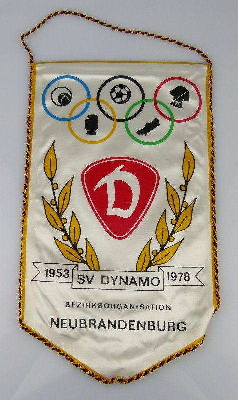 Wimpel: SC Dynamo Bezirksorganisation Neubrandenburg 1953-1978, Orden2173