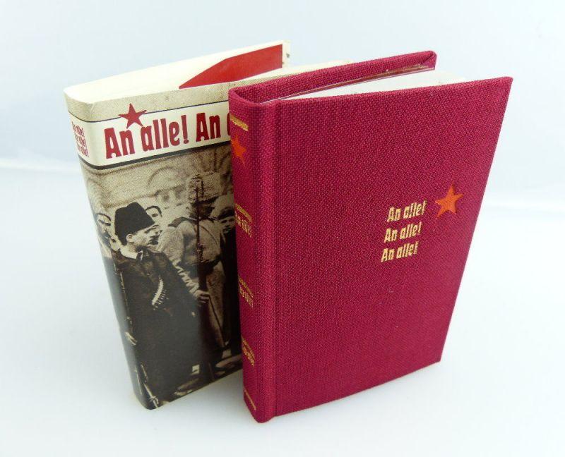 Minibuch: An alle! An alle! An alle! Militärverlag der DDR e311