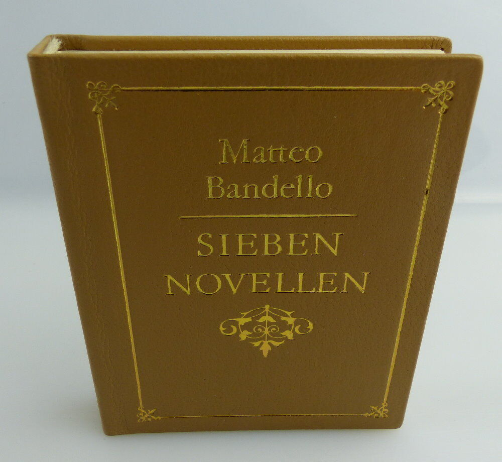 Minibuch: Matteo Bandello - Sieben Novellen - Rütten und Loening Berlin e011