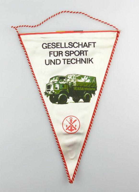 #e2886 DDR Wimpel: Gesellschaft für Sport und Technik GST