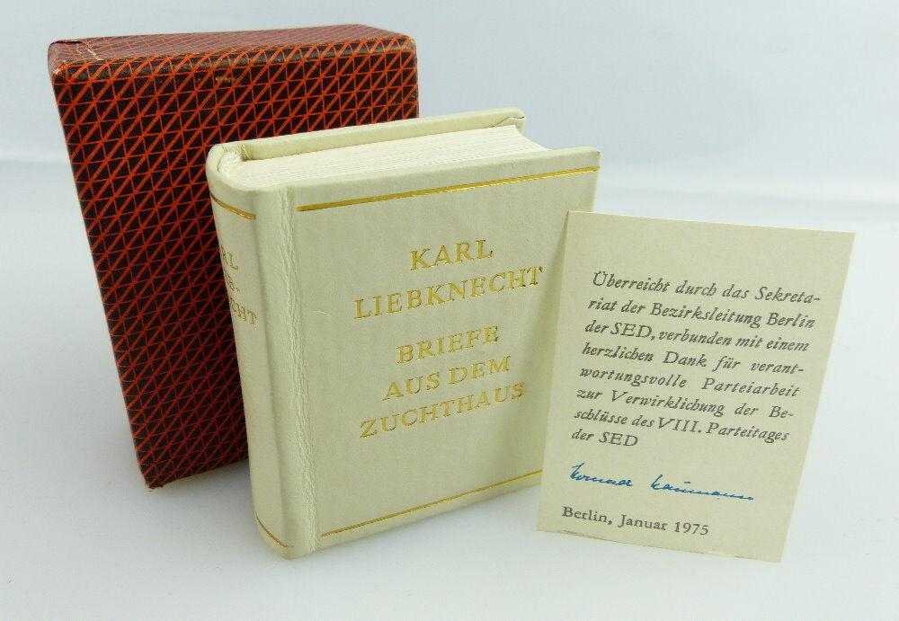 Minibuch: Karl Liebknecht - Briefe aus dem Zuchthaus