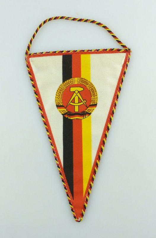 Original DDR Wimpel Weltmeisterschaft Sportschiessen Suhl 1986