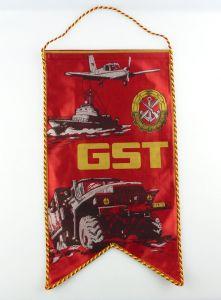 #e2881 DDR Wimpel: GST Gesellschaft für Sport und Technik
