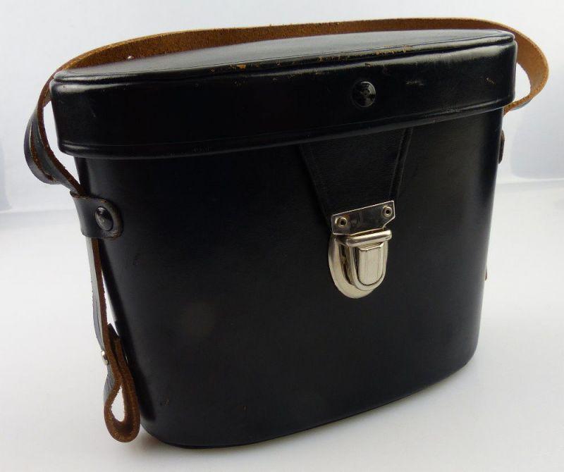 Schwarze Fernglastasche für z.B. Carl Zeiss Jena Ferngläser 6x30, 8x30, fern656