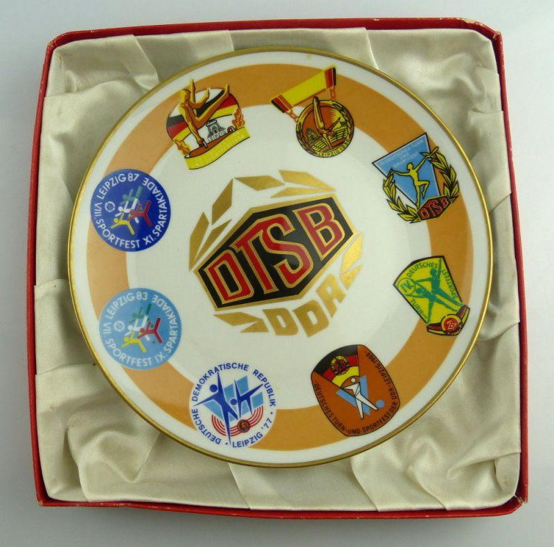 Teller: DTSB DDR Deutscher Turn- und Sportbund, so264