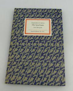 Insel Bücherei: Inselbuch Nr.841 Die Spurlosen Drei Hörspiele bu0523