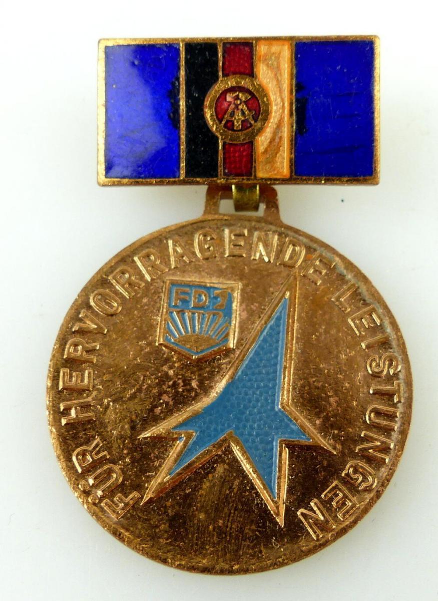 Medaille: FDJ Für hervorragende Leistungen, Messen der Meister von morgen e1702