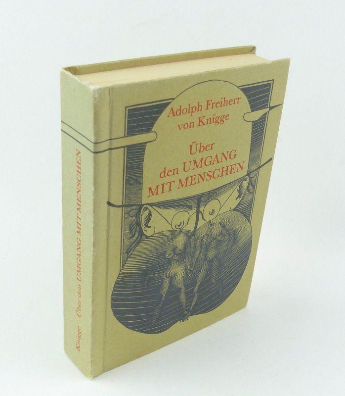 #e7326 Minibuch: Über den Umgang mit Menschen Adolph Freiherr von Knigge
