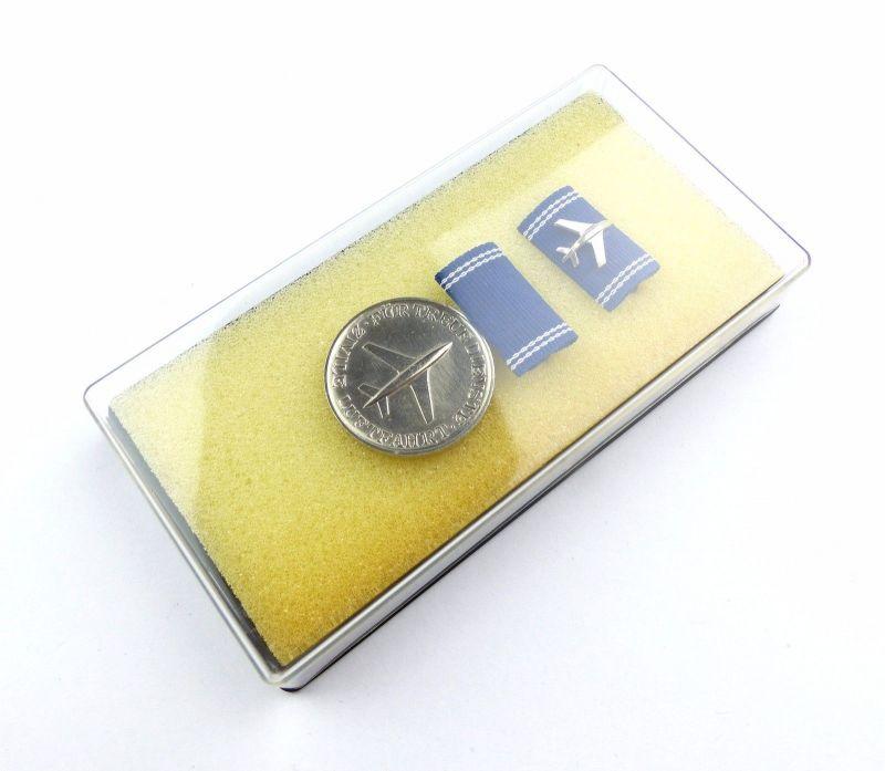 #e6913 Treue Dienste Medaille der zivilen Luftfahrt in Silber Band I Nr. 190 c