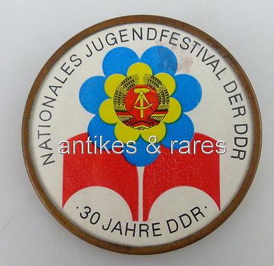 Abzeichen: Nationales Jugendfestival der DDR, 30 Jahre DDR