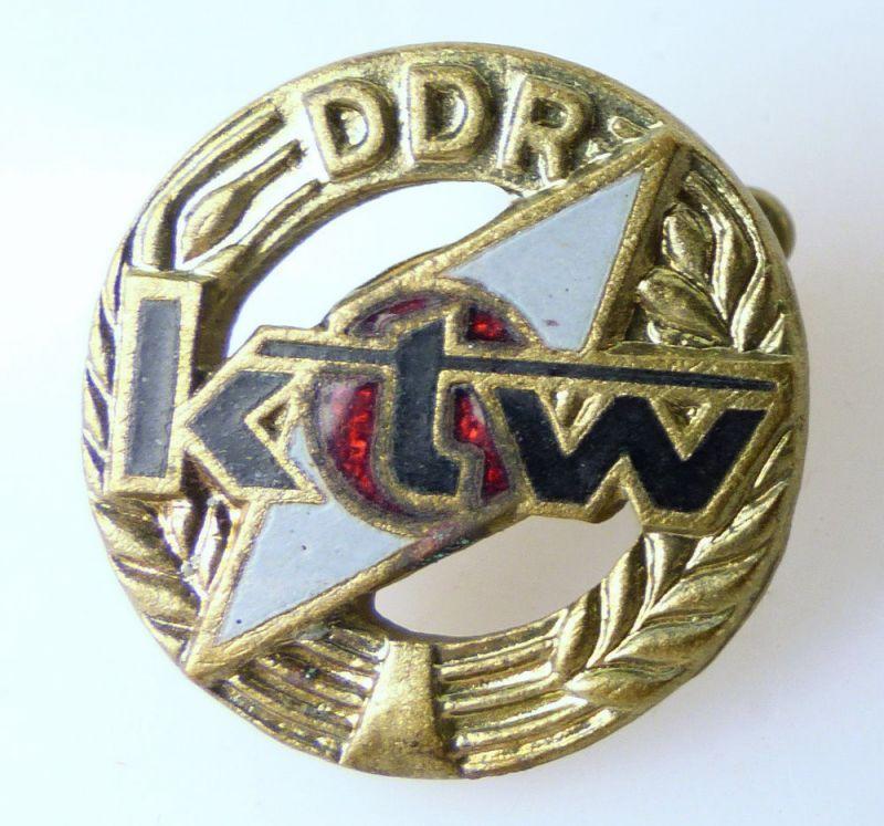 Abzeichen: DDR ktw Komitee für Touristik und Wandern e1693