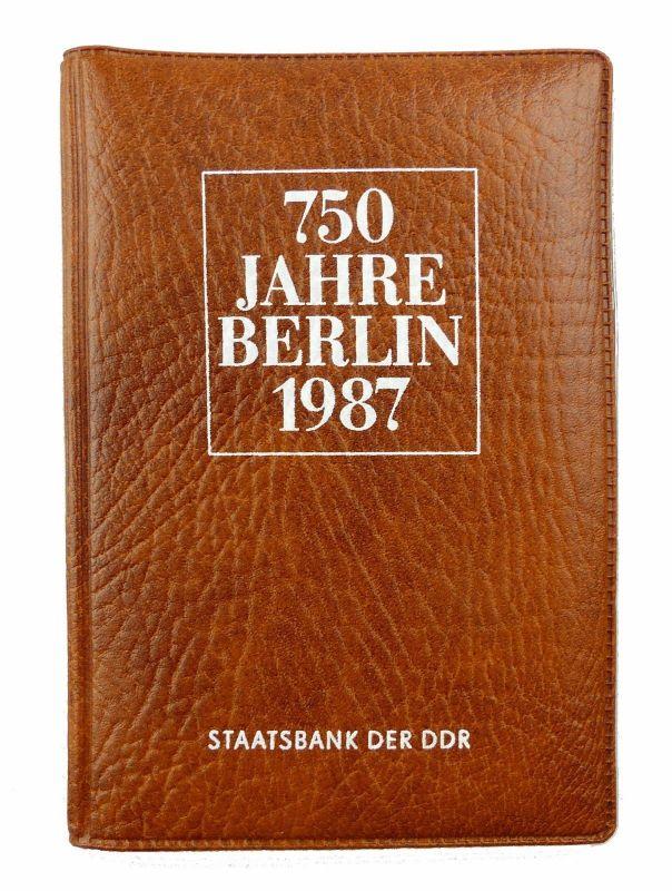 E7318 Münzsouvenir 750 Jahre Berlin Ddr 1987 Staatsbank Der Ddr 5