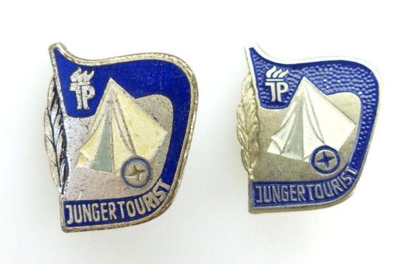 #e2507 2x Touristen-Abzeichen in Silber JP Band V Nr.1204