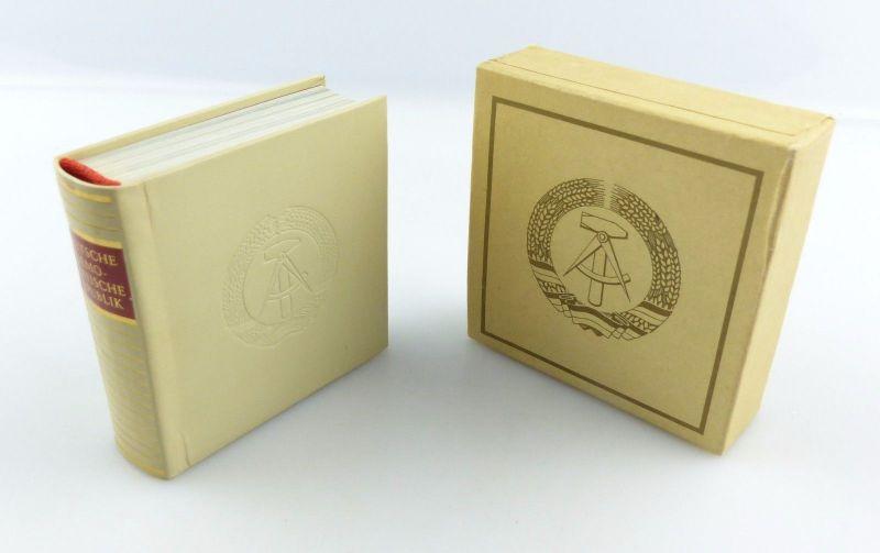#e5871 Minibuch: Deutsche Demokratische Republik Verlag Zeit im Bild DDR Dresden