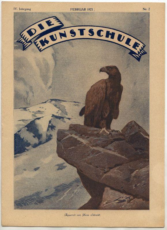 Die Kunstschule IV Jahrgang Februar 1921 Nr 2