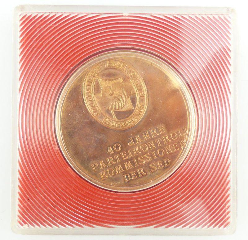 #e3244 Medaille Haus des Zentralkomitees der SED nur insg. 40 Stück hergestellt!
